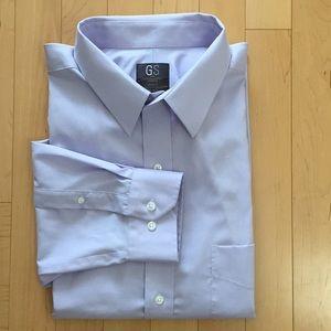【Brand New】Big & Tall dress Shirt/ Lilac